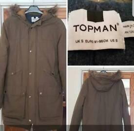 Men's top man Parker coat