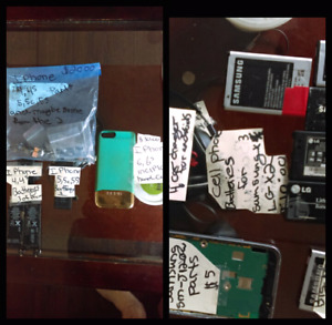 Cell phone parts and more