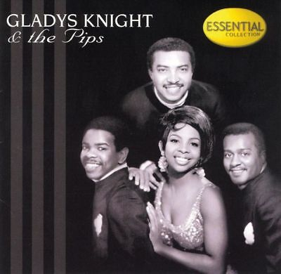 Gladys Knight   The Pips  The Essential Collection Cd  18 Tracks   1999  Vg