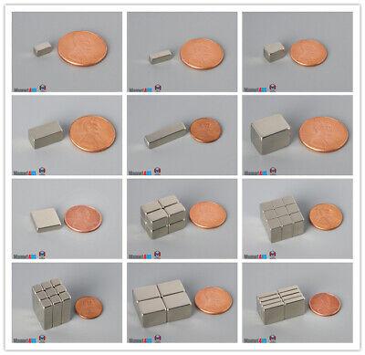N52 Length Magnetized Bar Rare Earth Neodymium Crafts Arts Tools Block Magnets