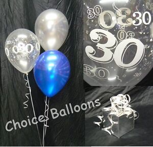 Happy Birthday Party Helium Balloon Decoration DIY Clusters Kit -10 tables