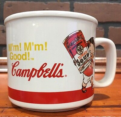 Campbell's Soup Kids 2004 Mug Houston Harvest Item 31359 Stock 951