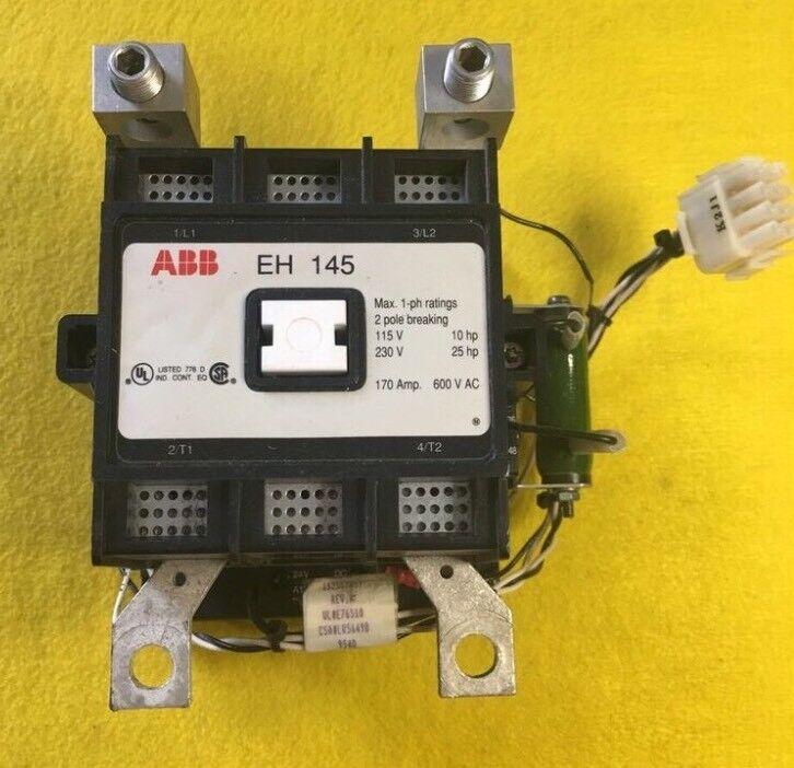 ABB EH 145 CONTROL 170 AMP 600 V AC 2 POLE EH 145C-*L