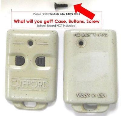 keyless remote entry case ONLY Clifford CZ57RR LP1/2M clicker keyfob transmitter