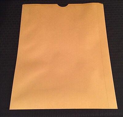 New Box Of 100 Large Open End Manila Photo Envelopes 17.5x14.5 Photographic