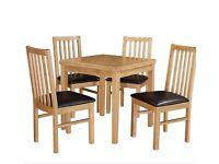 Debenhams Fenton Extendable Table & 2 Chairs