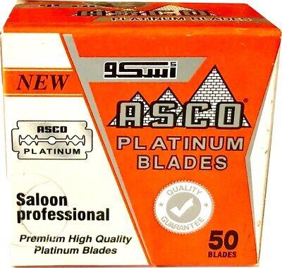 50 Asco Platinum double edge razor