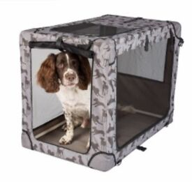 Brand New Fabric Dog Crate Size Large - Large RRP £52.00