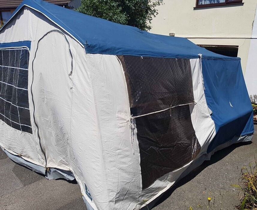 Conway clipper 4+ birth trailer tent   in Truro, Cornwall   Gumtree