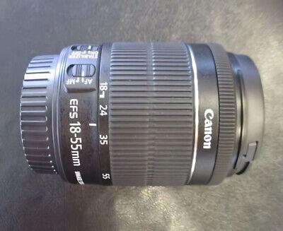 캐논 EF-S 18-55 mm f/3.5-5.6 IS II 렌즈 패키지 용 새로운 캐논 EF-S 18-55