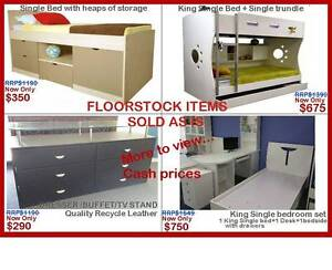 FLOORSTOCK CLEARANCE-EVERYTHING MUST GO! Padstow Bankstown Area Preview