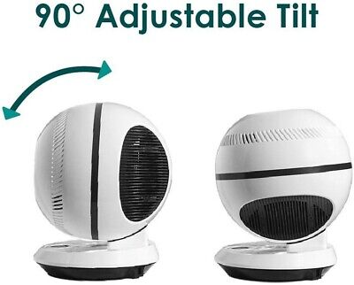 Oscillating Fan 12-Speed Remote Control Bladeless Breeze,