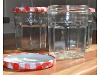 80 X Bonne Maman Jam Jars with Lids