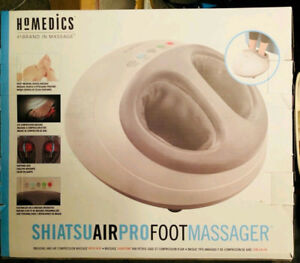 Brand New Ho Medics Shiatsu Air PRO Foot Massage--FREE DELIVERY