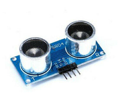 5 Pcs Hc-sr04-p Ultrasonic Distance Measuring Transducer Sensor For Arduino