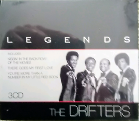 The Drifters Legends (3xCD box set). NEW - REDUCED.