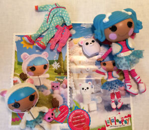 Lalaloopsy Dolls and Rocker/Stroller Clothes Pets