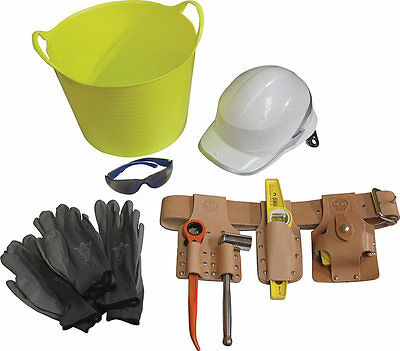 Scaffolding Tools Set - Leather Tool Belt Scaffold Tools Ppe Workwear