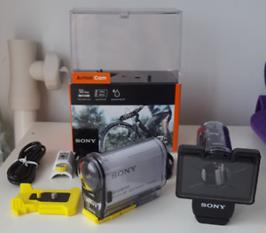 Sony AS100 Action Camera + MPK-AS3 dive housing