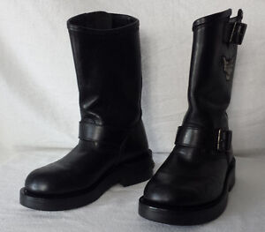 Bottes Harley Femme Cuir, 6, 6.5 & 8, 65$ chacune
