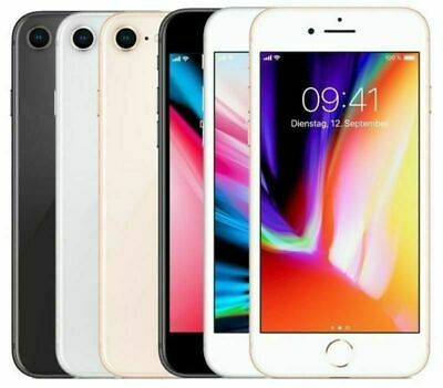 Apple iPhone 8 64GB 256GB SIM Free iOS WIFi UK Stock Smartphone Factory Unlocked