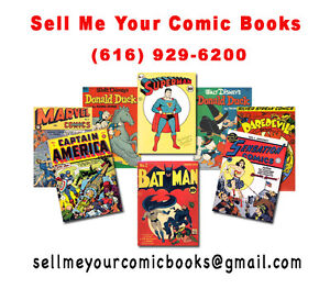 BUYING OLD COMIC BOOKS