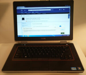 "Dell Quad Core i7 14"" laptop with SSD and Nvidia graphics"