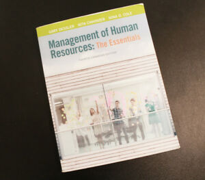 Management of Human Resources: The Essentials by Dessler (4 ed)