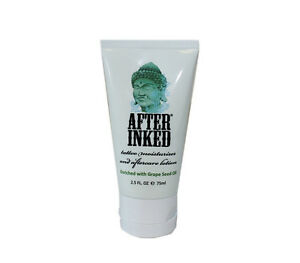 After inked for new tattoo aftercare lotion healing for Tattoo care lotion