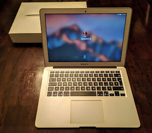MacBook Air 13po modèle 2015 Core i5 4gb RAM 128gb SSD