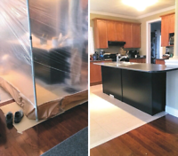 TOM: 647-761-8728 Spray Painting Kitchen Cabinets Refinishing