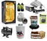 Complete grow tent kit 600w fan kit 120 1.2 coco set up hydroponics BUDDA Canna
