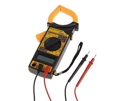 Dt266 Household Portable Digital Clamp Multimeter Voltage Ampere Ohm Test Meter