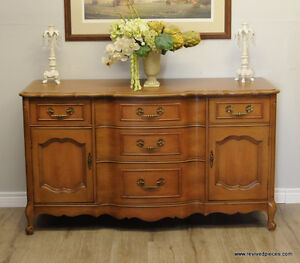 Antique French Style Buffet / Sideboard $ 425  Cherry wood. Very