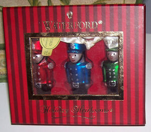 Set of 3 Waterford Holiday Heirloom Toy Soldier Ornaments London Ontario image 2