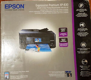 Epson XP-830 all-in-one printer