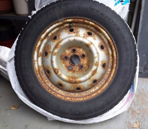 SNOW TIRES from 2008 Subaru Forrester