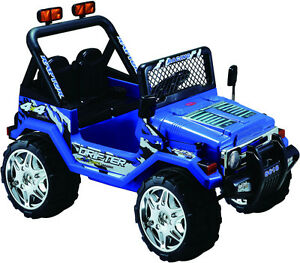 12V Ride on Jeep Wrangler Style - Christmas Special Kitchener / Waterloo Kitchener Area image 4