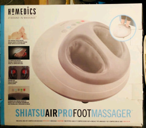 New! HoMedics Shiatsu Air PRO Foot Massage