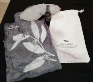 Saje Clay Cuddle Clay Pack with Eyemask and Tranquility Mist