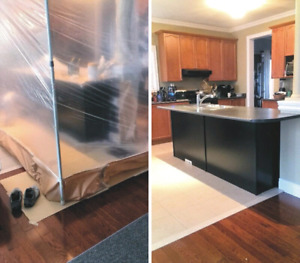 Enjoyable Cabinet Painting Painters Painting Services In Markham Complete Home Design Collection Papxelindsey Bellcom