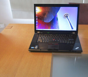 Lenovo T510-- i7 DUO CORE LAPTOP 8GB RAM 320GB HDD WIFI 15.6'