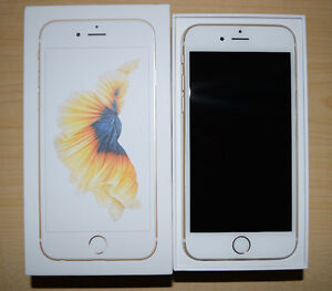 NEW iPhone 6s 16GB Gold BELL/VIRGIN