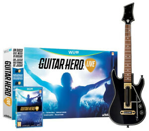 New in Box Guitar Hero Live Wii