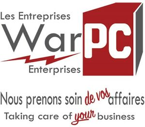 Get all your office/business supplies at Les Entreprises WarPC West Island Greater Montréal image 1