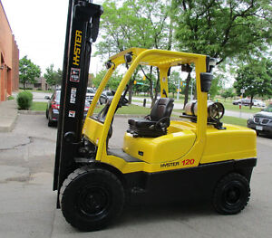 Hyster Forklift 12000Lb Capacity Out door and indoor