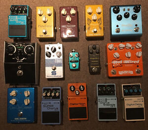 Pedal Sale. Individual Sale or all for $1000. Save $570!