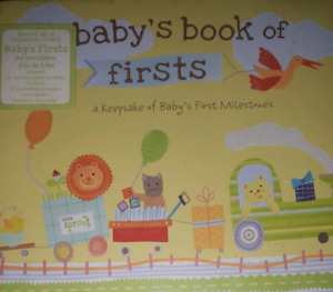 Babys book of firsts