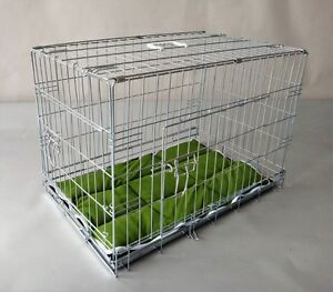 Folding Galvinized Wire Dog Crate