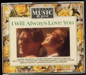 I-WILL-ALWAYS-LOVE-YOU-2-CD-EVA-Leo-Sayer-Air-Supply-Vicki-Brown-Dolly-Parton
